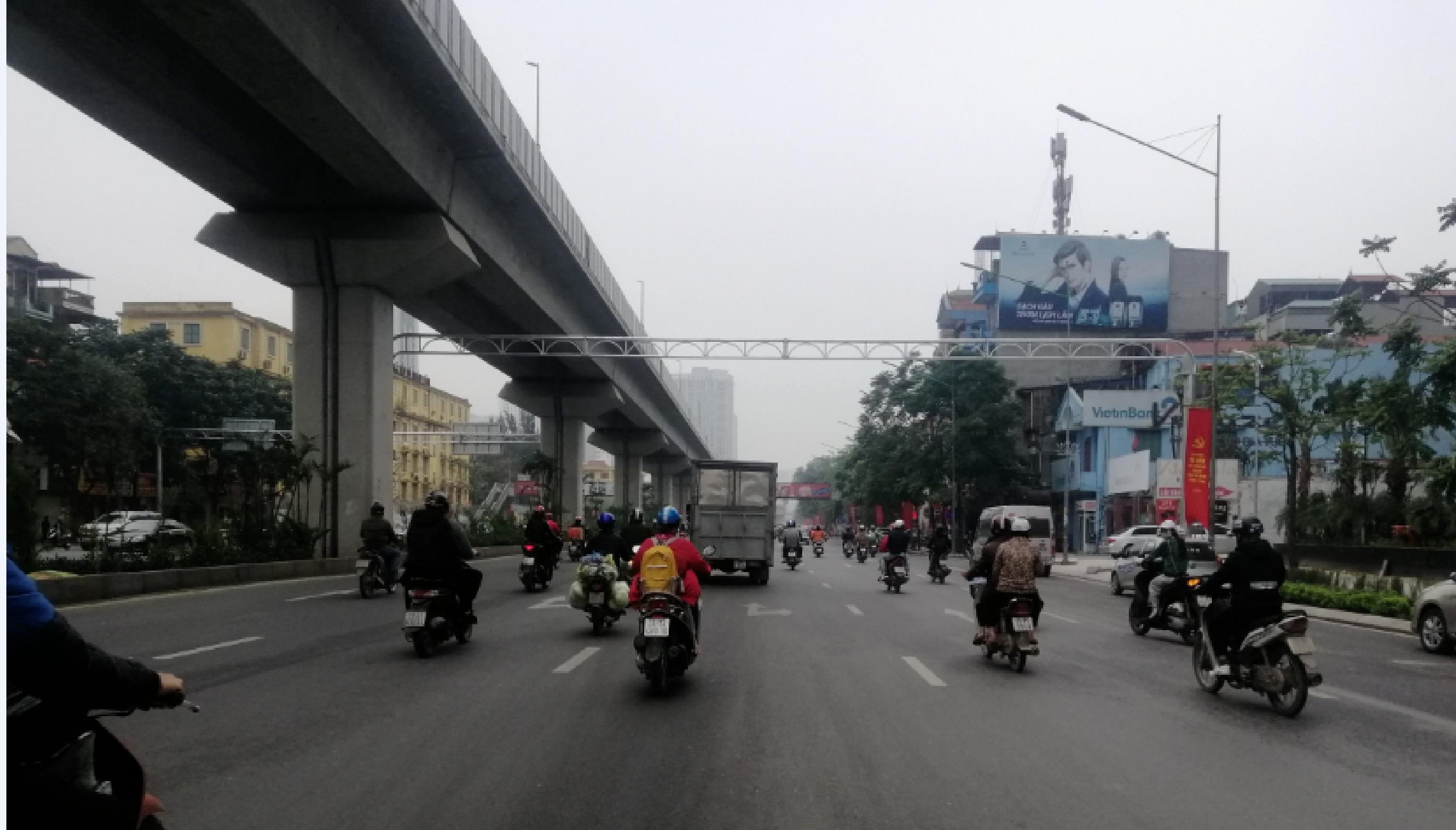 Quảng cáo cho nhãn Romano tại  271 Nguyễn Trãi, Thanh Xuân , Hà Nội