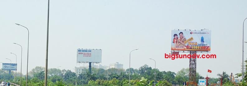 Quảng cáo nhãn Cehomes tại vị trí 52B Thăng Long - Nội Bài