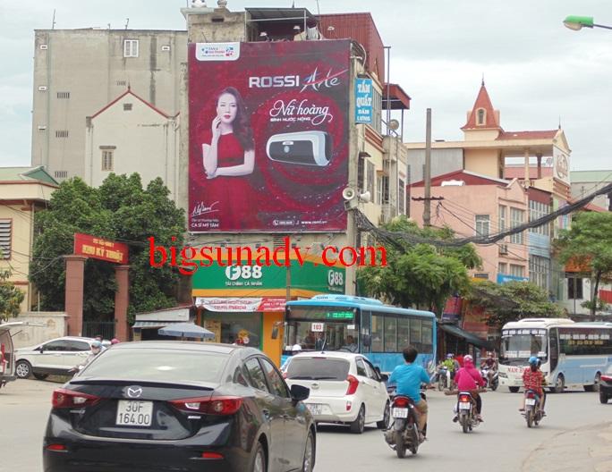 Quảng Cáo Sản Phẩm Rossi - Tân Á Đại Thành Tại Phùng Hưng, Hà Nội