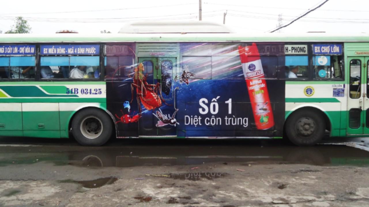 Quảng cáo bus