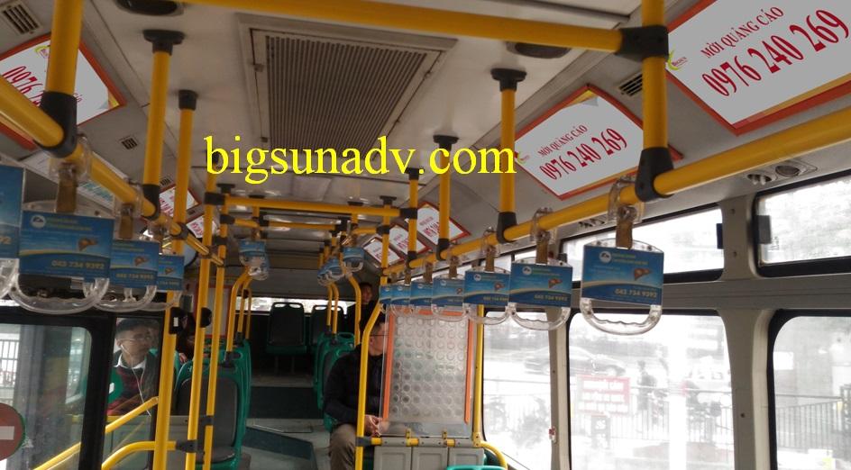 QUẢNG CÁO TRONG XE BUS