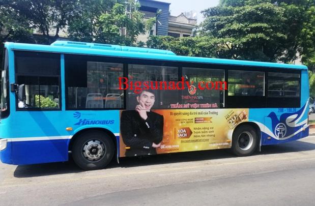 Quảng cáo cho nhãn Thẫm mỹ viện Thiên Hà
