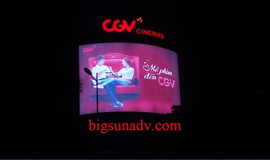Quảng cáo CGV tại Vincom Yên Bái