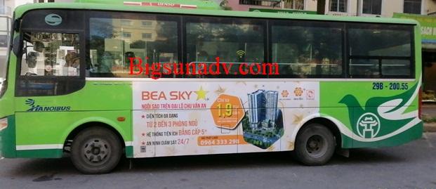 Quảng cáo sản phầm Bất động sản Bea Sky