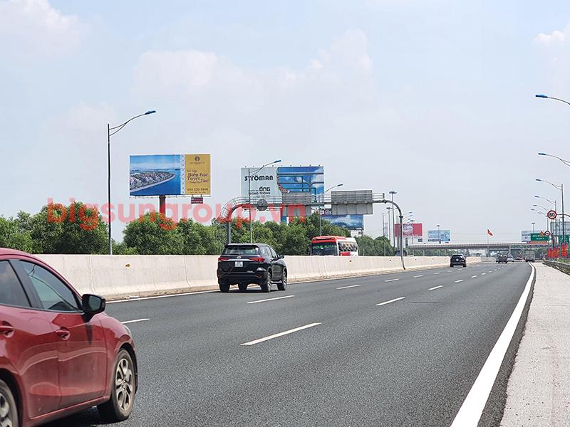 Quảng cáo nhãn Sun Group tại Cao tốc 5B Hà Nội - Hải Phòng -